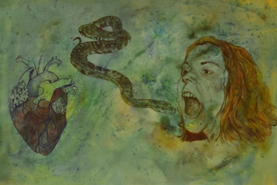 Exposición Olga Alarcón