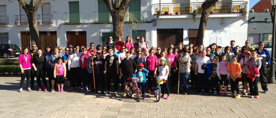 Marcha de senderismo Día de la mujer