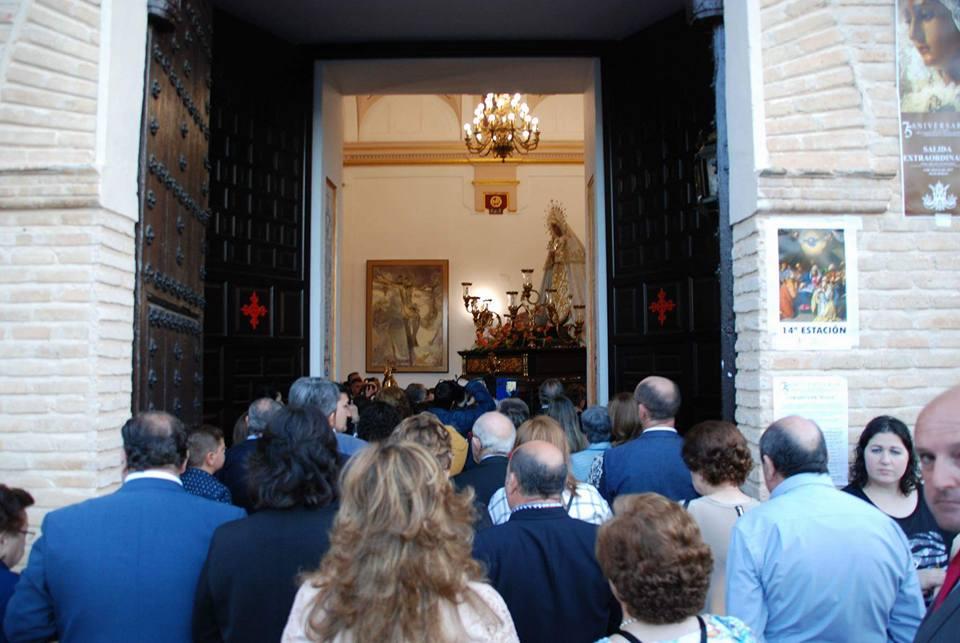 Torralba de Calatrava conmemora el 75 aniversario de la Virgen de los Dolores