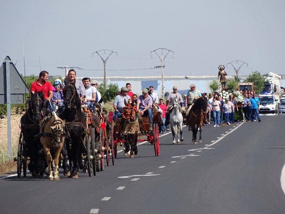 Torralba de Calatrava despide sus fiestas de San Isidro con una alta participación