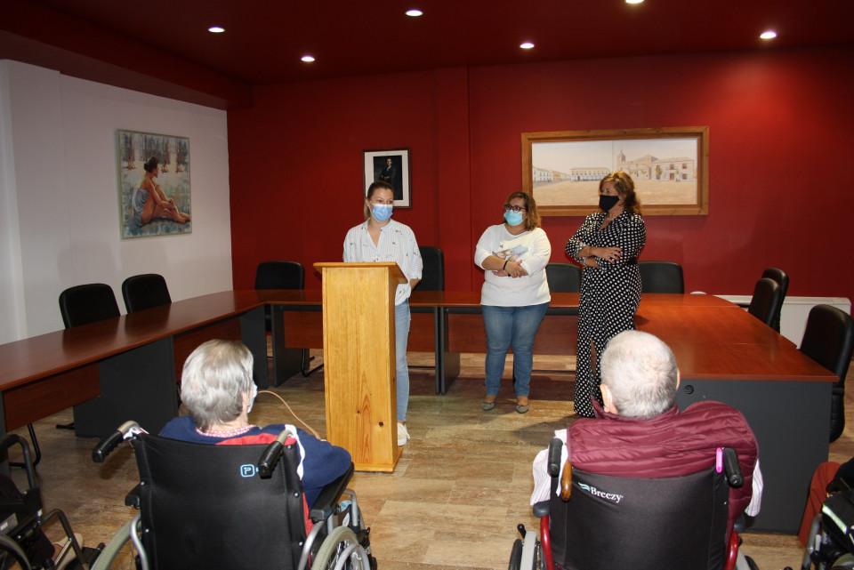 La Residencia de Mayores 'Virgen de la Blanca' agradece al Ayuntamiento su colaboración durante la pandemia